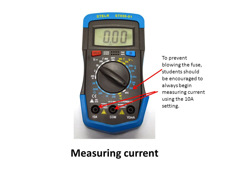how to use the multimeter pdf