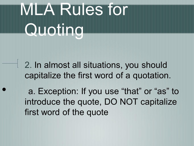 quoting shakespeare in essay mla