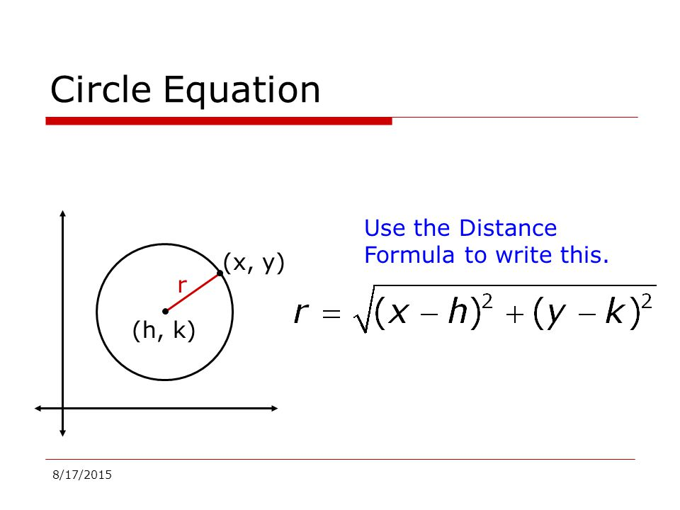 Equation For Circle Idealstalist