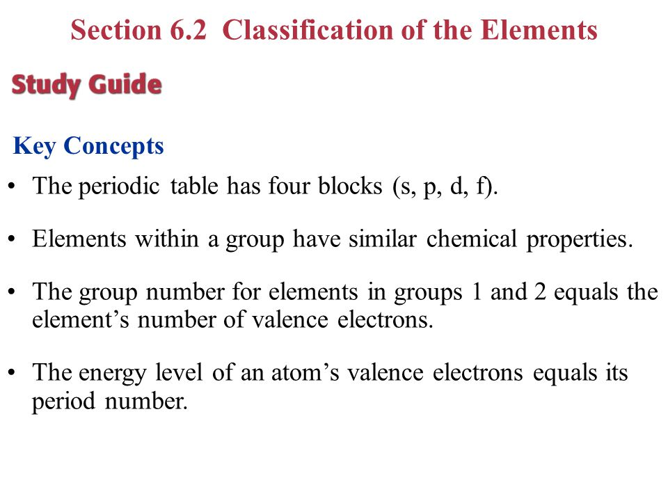Chapter 6 periodic table periodic law ppt video online download 37 section urtaz Image collections