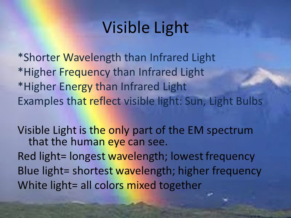 Infrared Waves Examples The Electromagnetic Sp...