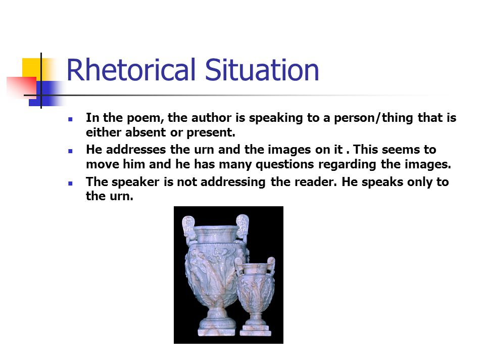 Images and figurative language used in the ode to grecian urn