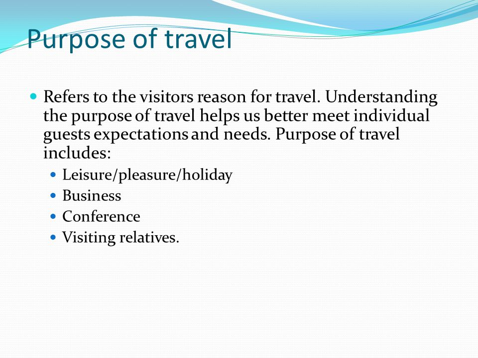 What Is Important To Business Travelers