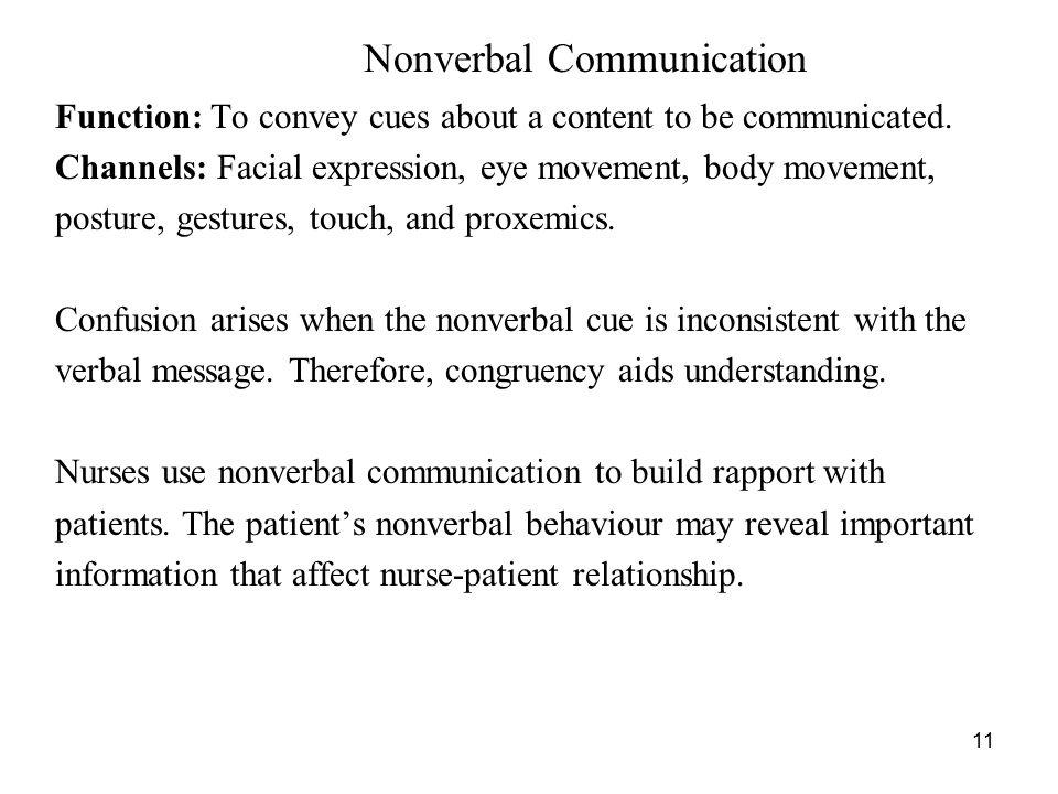 nonverbal communication facial expressions pdf