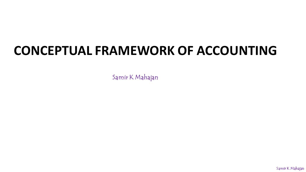 accounting regulation and conceptual frameworks Accounting forfinancial analysis william c norby, duff and phelps, inc, editor conceptual framework for financial accounting and reporting the financial accounting standards board's (fasb) conceptual frame- work project is a mammoth inquiry that may eventually result in drastic restructuring of accounting.