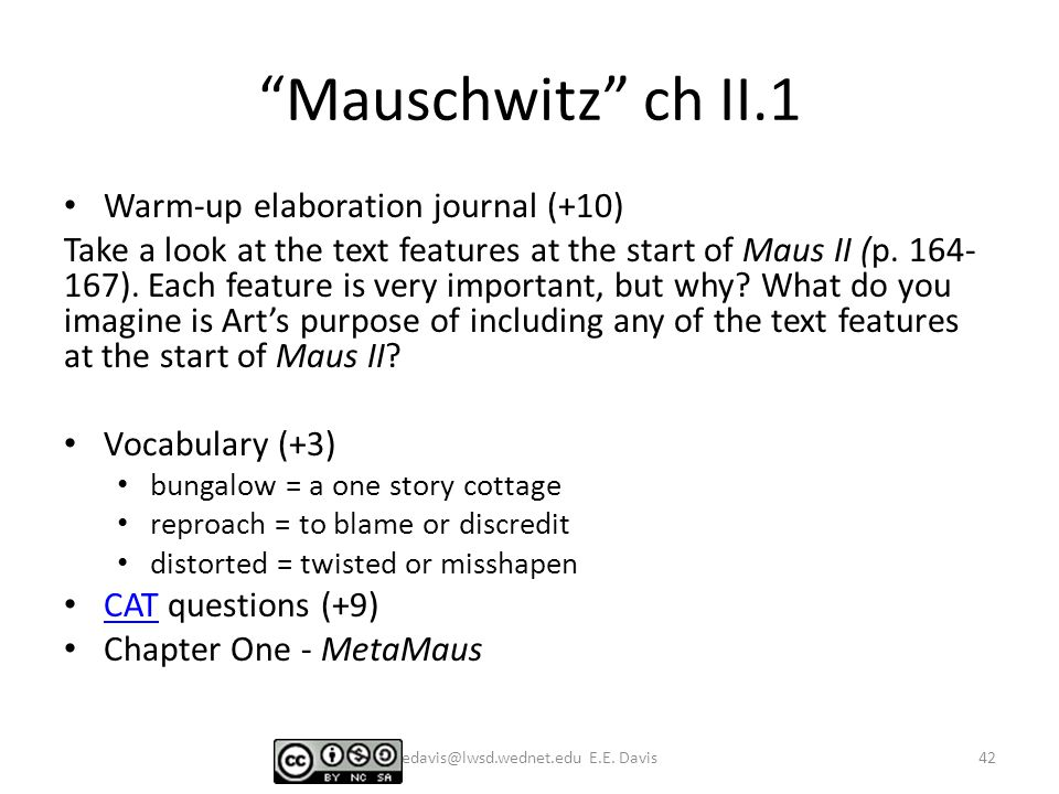 the complete maus essay questions Maus thesis ideas here's what you you'll see one here you'd like to adapt to use for your essay's thesis this question implies that a small amout of.