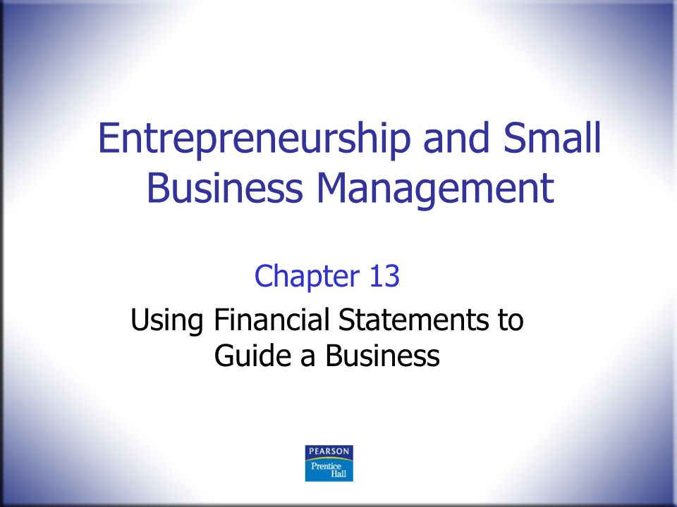 Financial management for small business