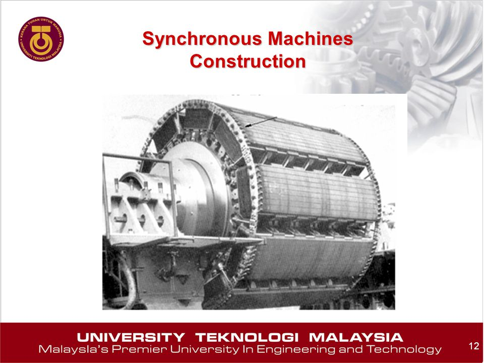 Synchronous Machines Construction