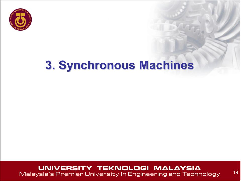 3. Synchronous Machines