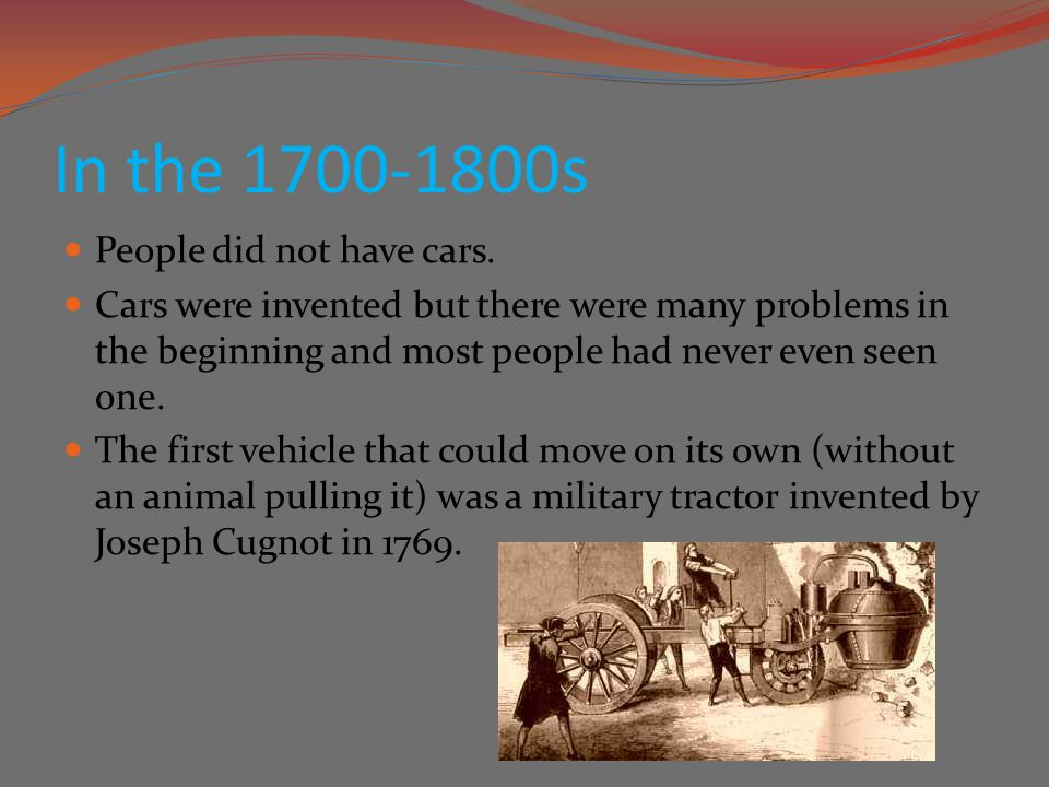 The History of Cars in America - ppt video online download