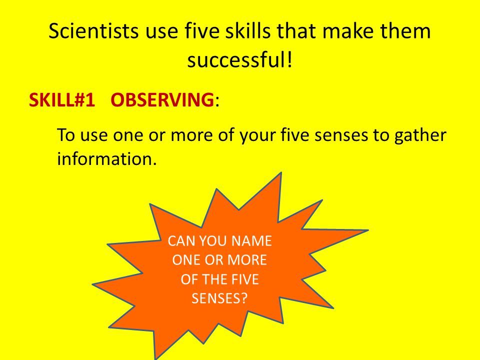 THINKING LIKE A SCIENTIST - ppt video online download