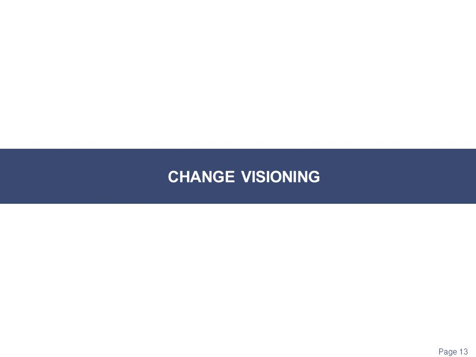 how to communicate the vision when implementing change