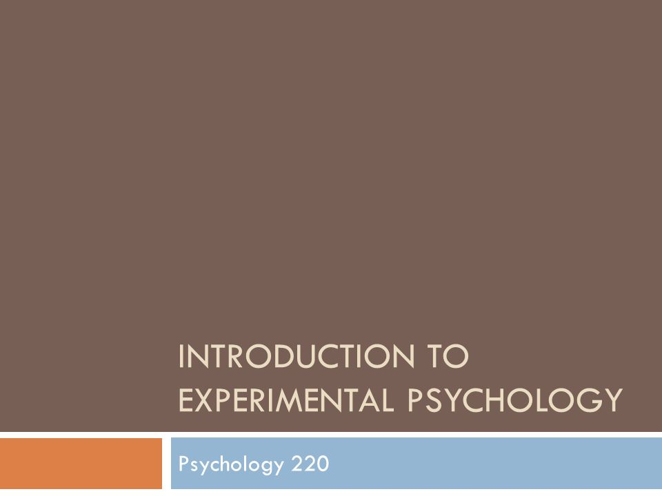 experimental psychology Graduate programs phd in experimental health psychology the mission of the experimental health psychology program at umkc is to.
