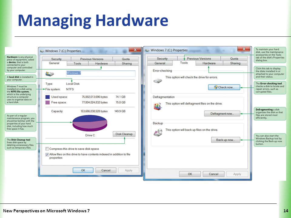 Managing Hardware New Perspectives on Microsoft Windows 7
