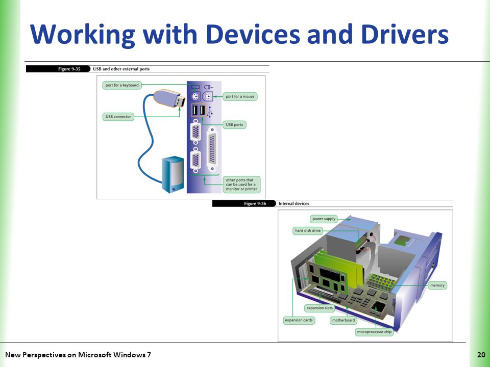 Working with Devices and Drivers