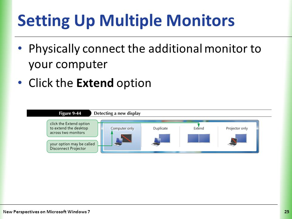 Setting Up Multiple Monitors