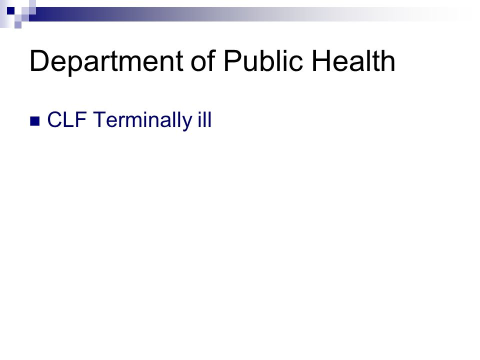 Department of Public Health