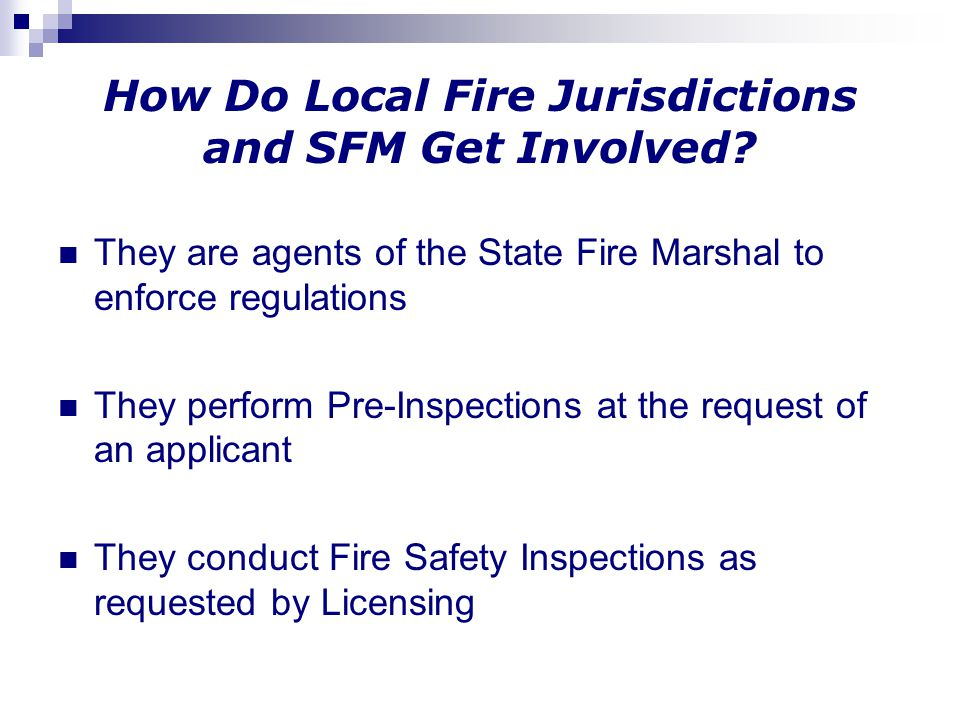How Do Local Fire Jurisdictions and SFM Get Involved