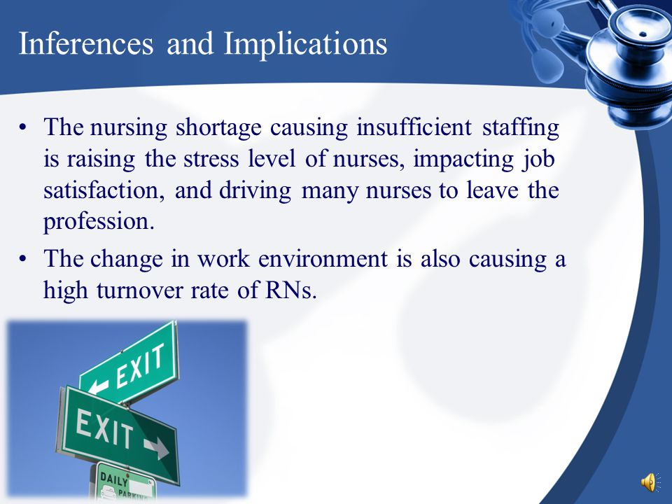 nurse staffing job satisfaction and retention Hospital nurse job satisfaction and retention hospital nurse job  the study aims to examine the effects of nurse staffing and organizational support on nurses .