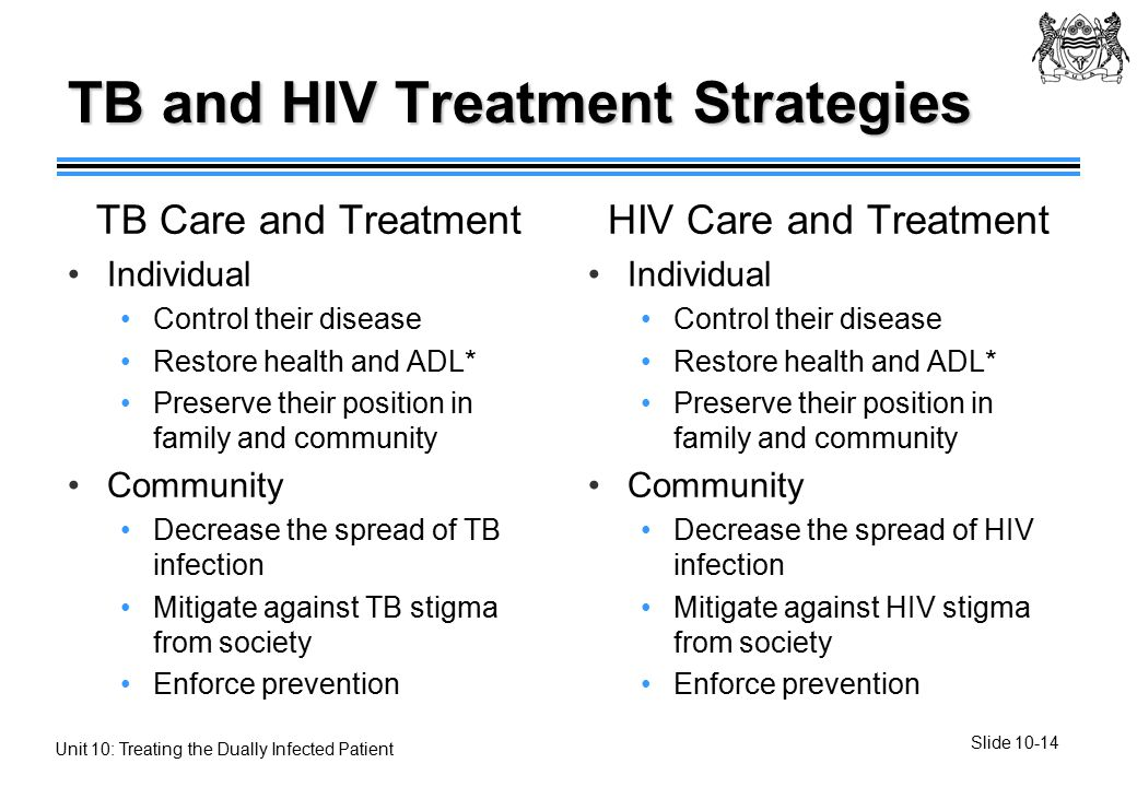 Control of hiv and tb health and social care essay