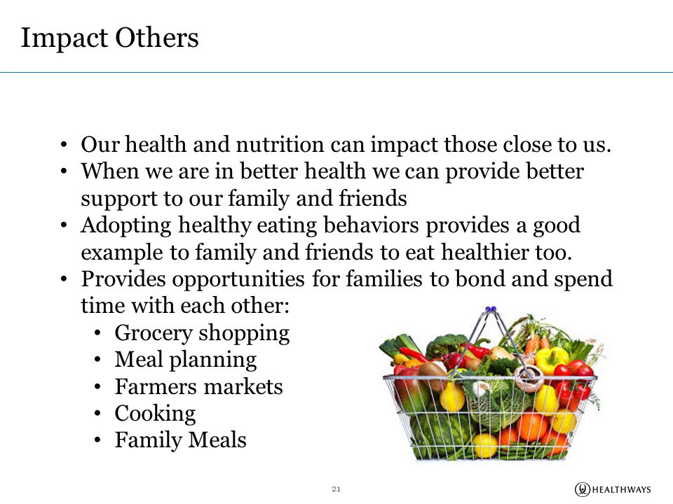 impact of diet on health Good diet and nutrition are important for optimal student performance   insufficient diets are reported to have more problems with health, academic  learning,.