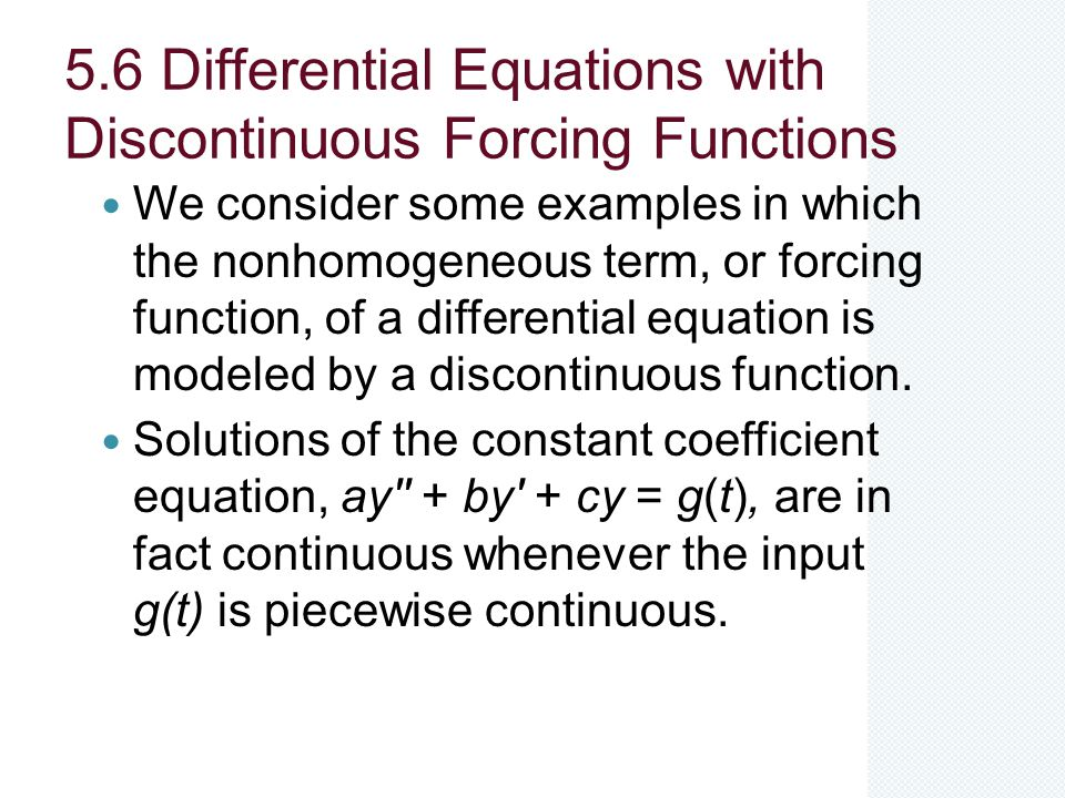 differential equations examples and solutions pdf