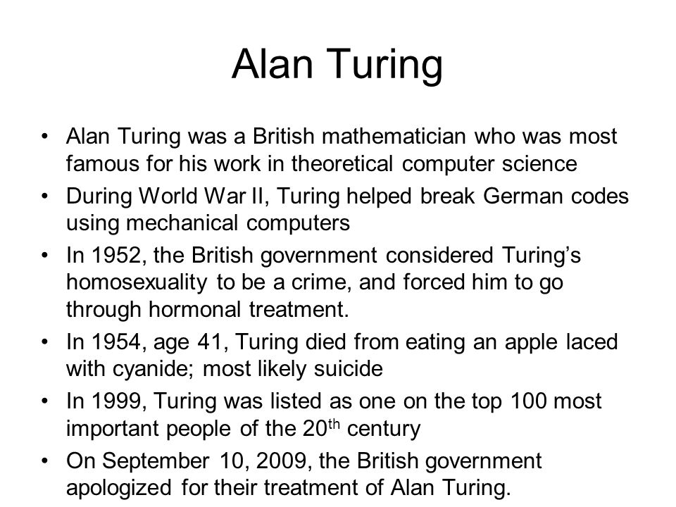 turing s legacy minds machines alan turing ppt video online  3 alan