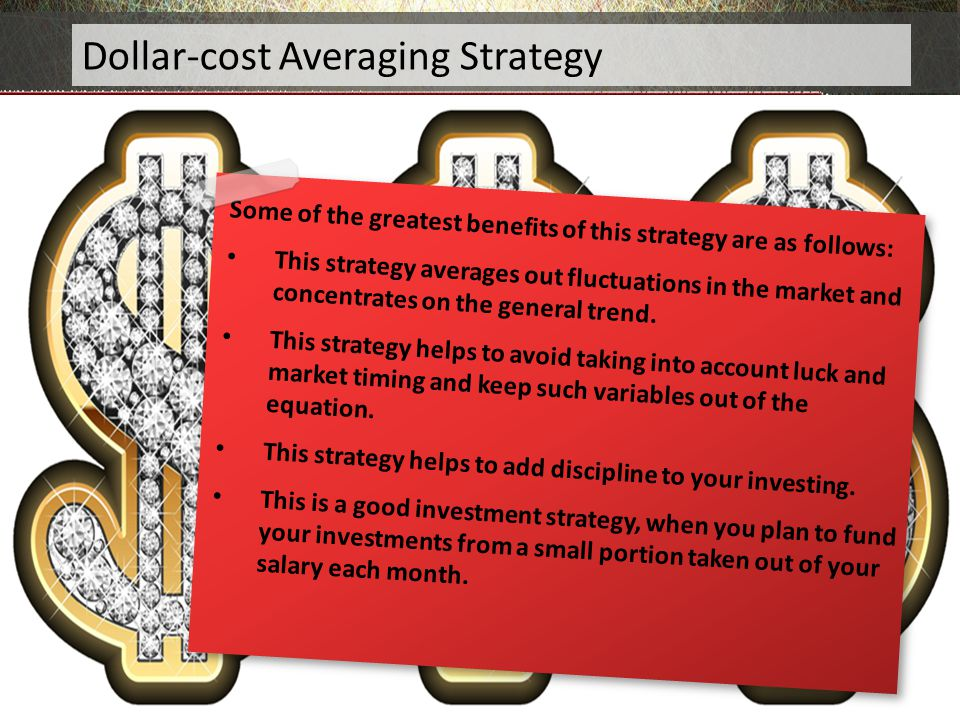 Dollar-cost Averaging Strategy