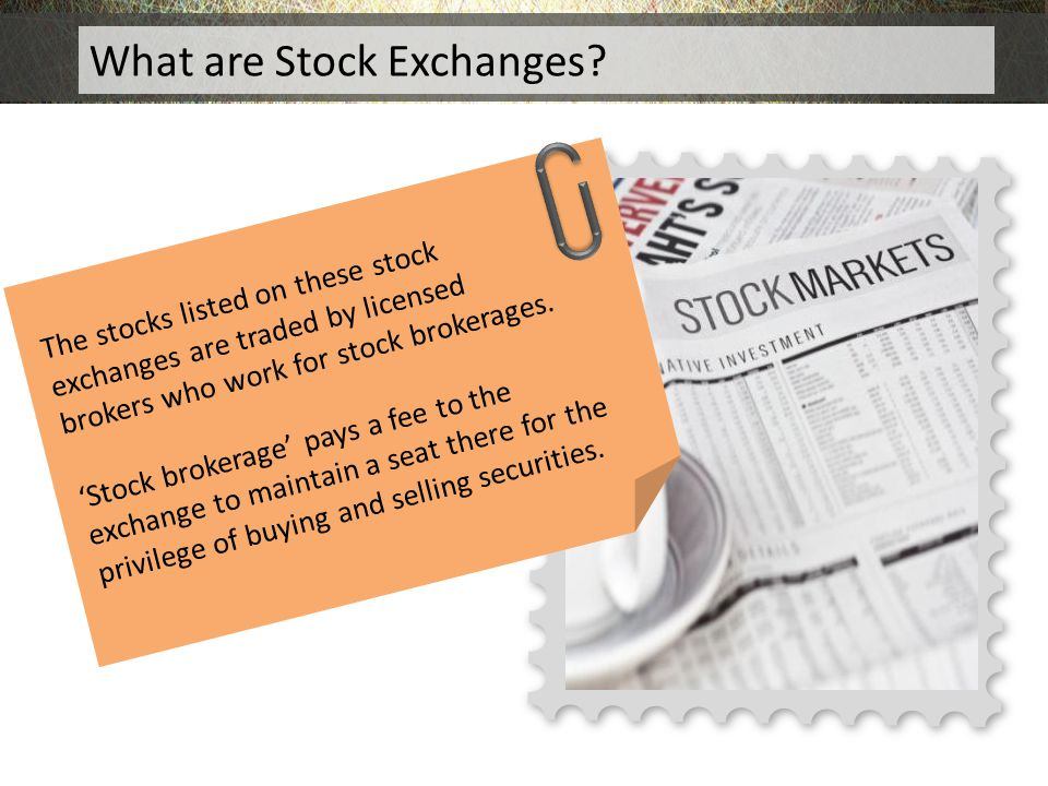 What are Stock Exchanges