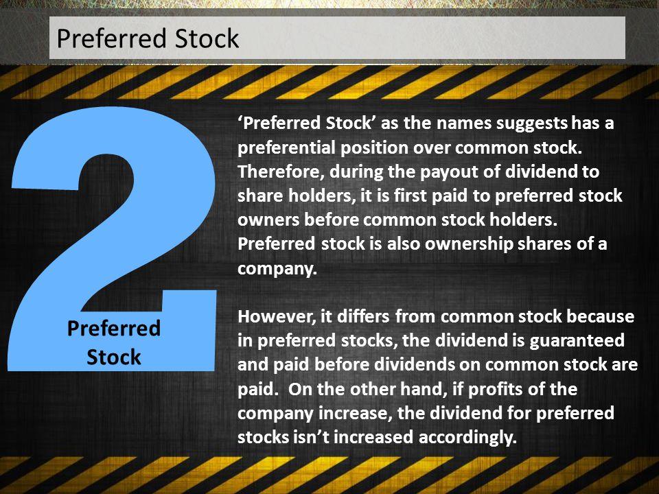 2 Preferred Stock Preferred Stock