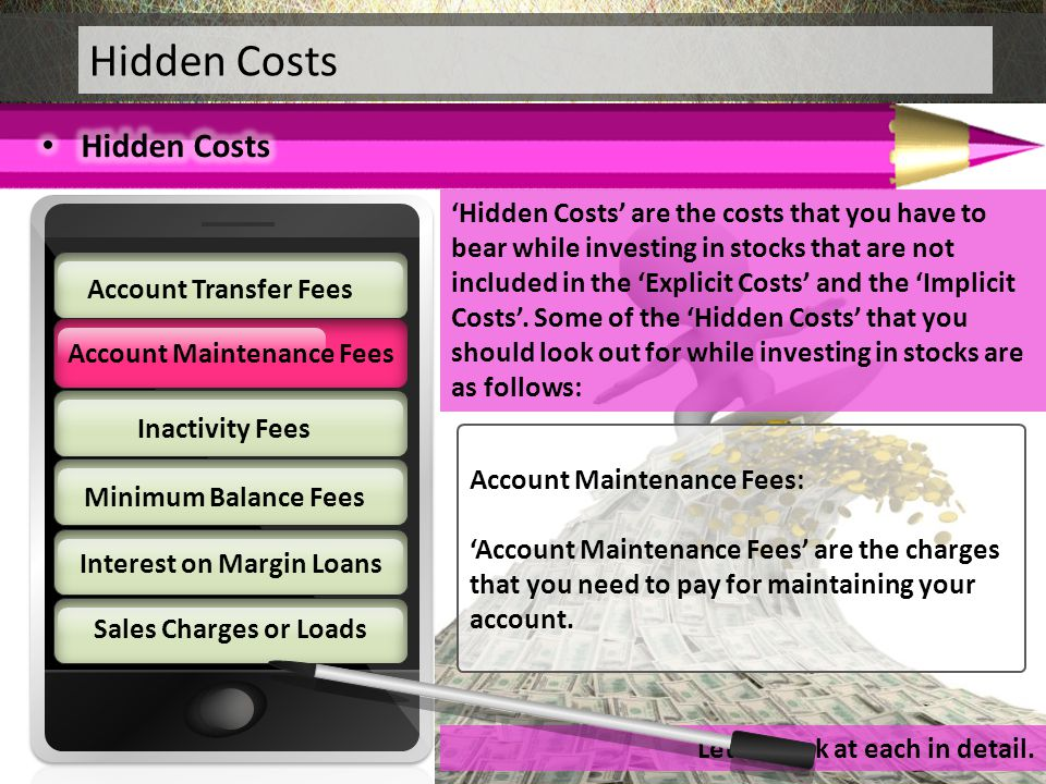Hidden Costs Hidden Costs