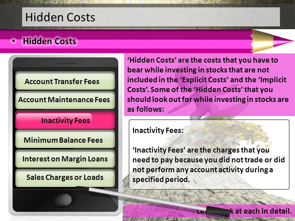 Account Maintenance Fees Interest on Margin Loans