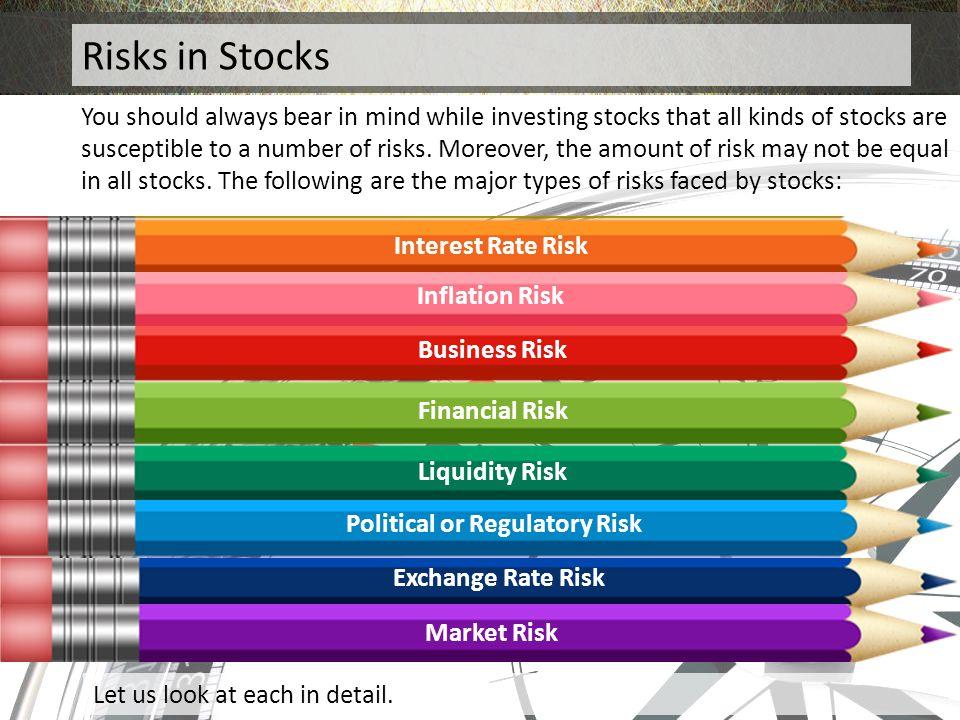 Political or Regulatory Risk