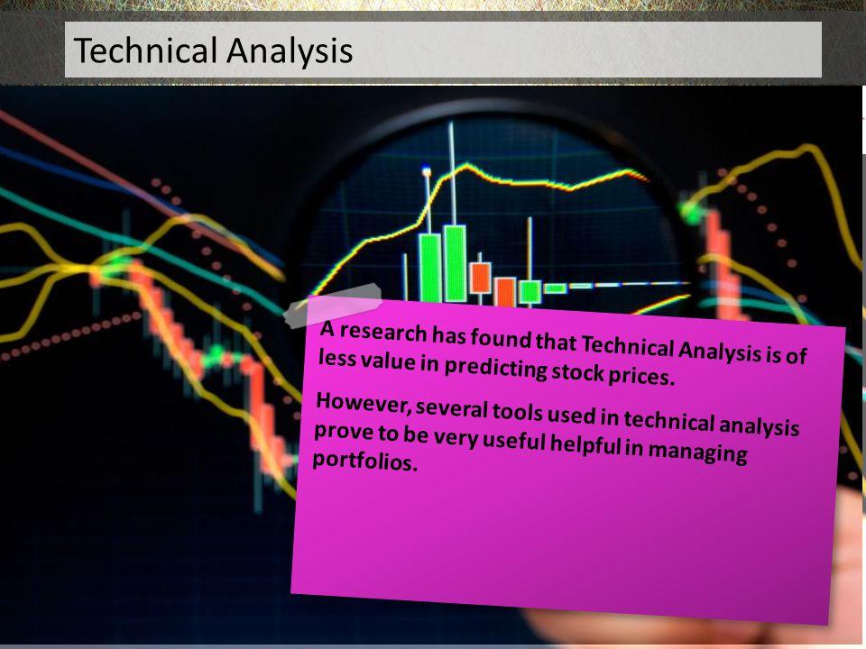 Technical Analysis Technical Analysis
