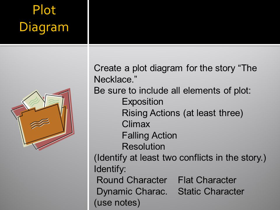 Guy de maupassant the necklace ppt video online download 16 plot diagram ccuart