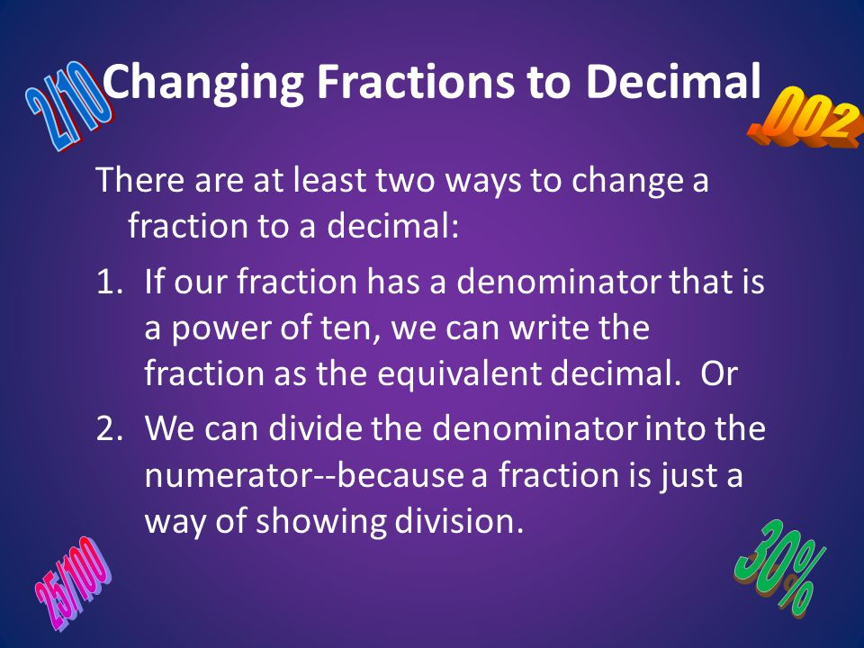 how to change the denominator in a fraction