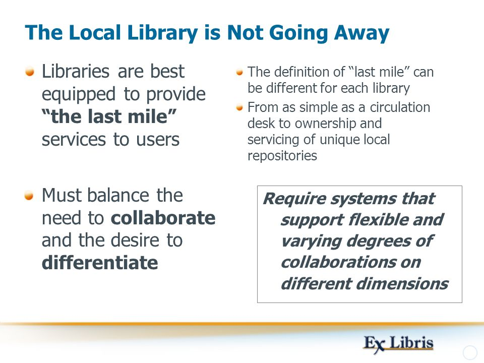 The Local Library is Not Going Away