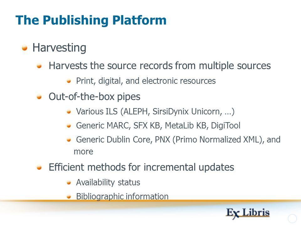 The Publishing Platform