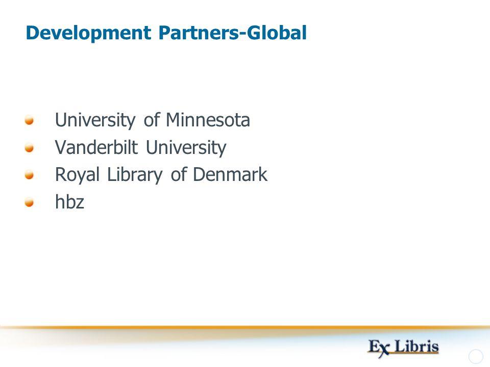 Development Partners-Global