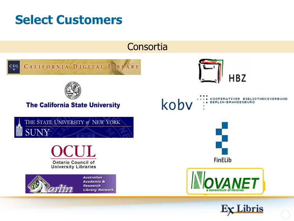 Select Customers Consortia