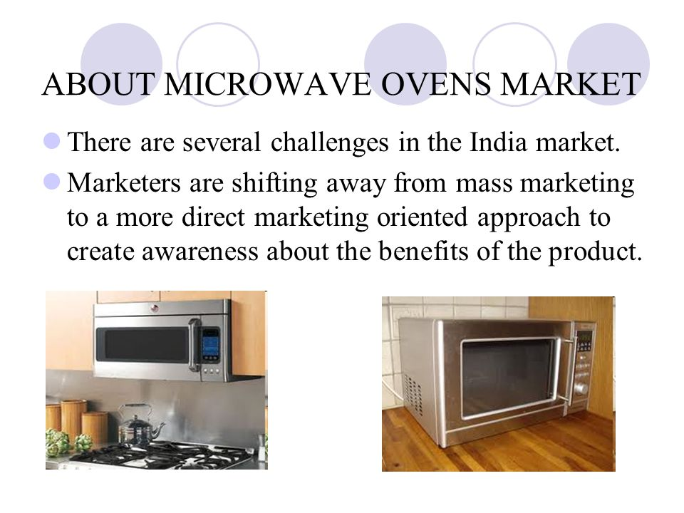 marketing microwave ovens to a new market segment essay Case 1-4 marketing microwave ovens to a new market segment liked  for  each topic along with summary/explanation posted 23 hours ago.