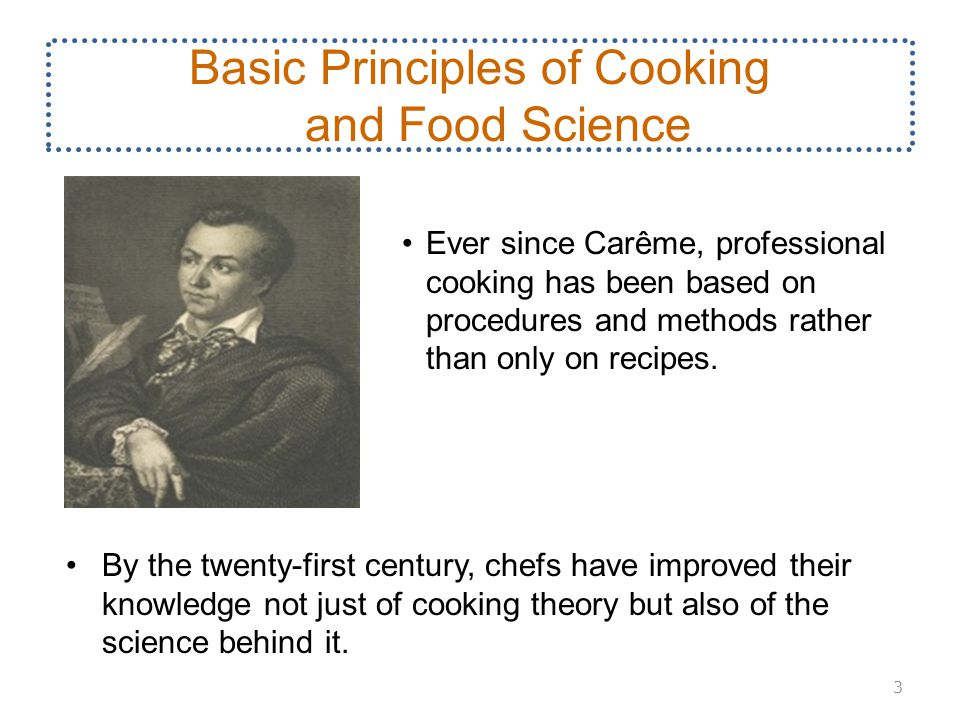 Basic principles of cooking and food science ppt video online download basic principles of cooking and food science altavistaventures Image collections