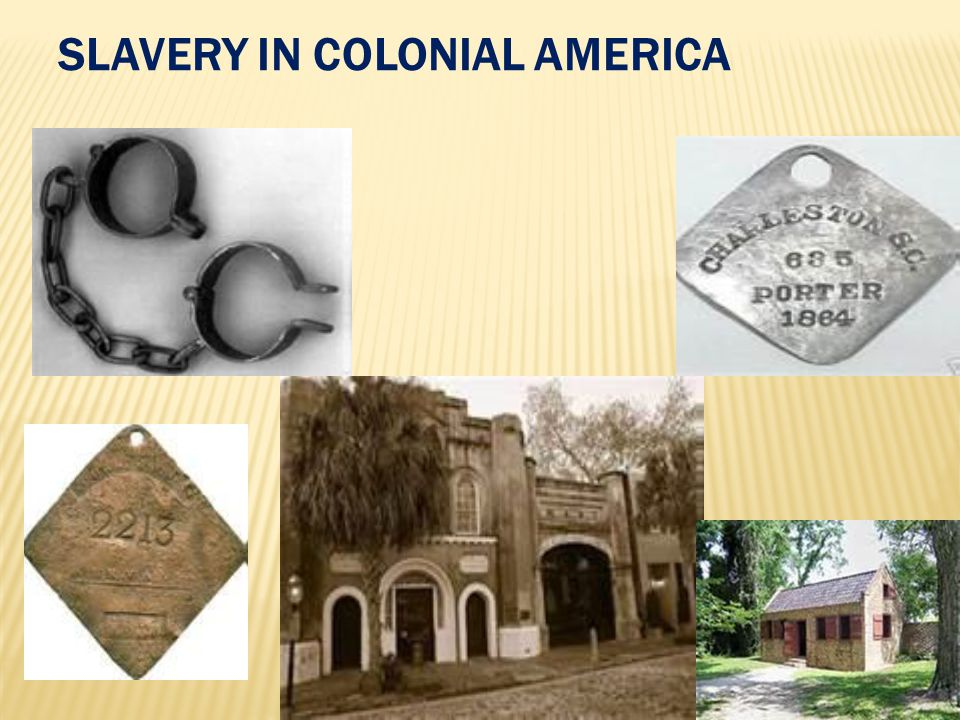 An analysis of the slave culture of colonial america
