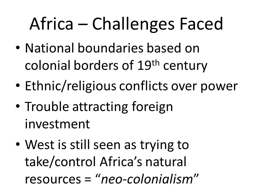 an analysis of the challenges faced in global south Regional overview: youth in africa  the global financial crisis notwithstanding, poverty, low levels of participation in national and local  namibia, swaziland .