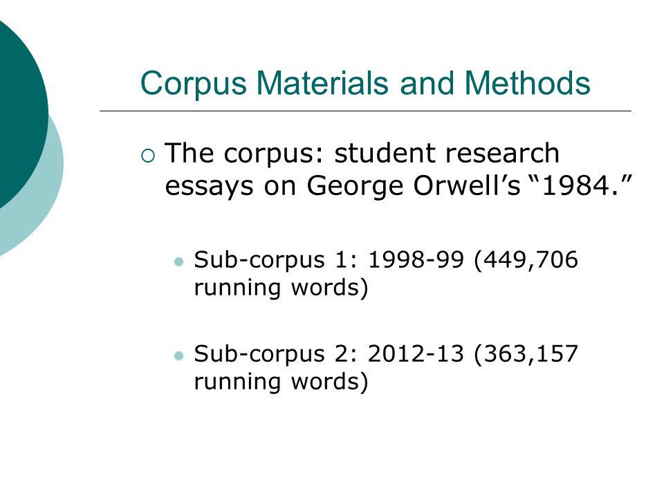 writing research across borders iii paris sandra gollin kies  7 corpus materials and methods