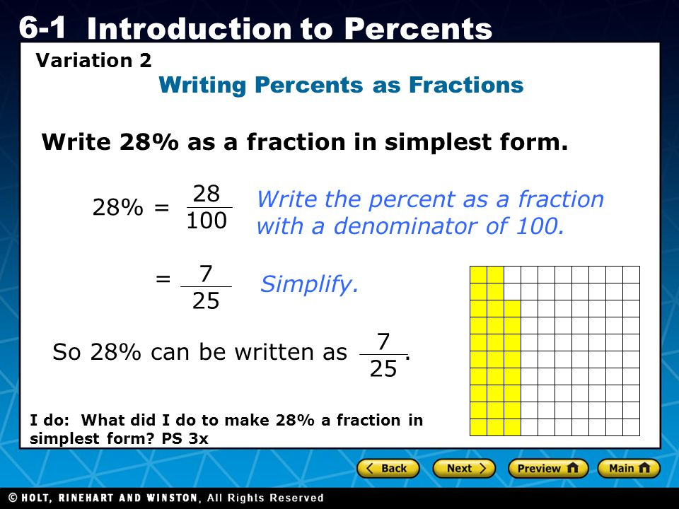 We will calculate1 percentages. - ppt download