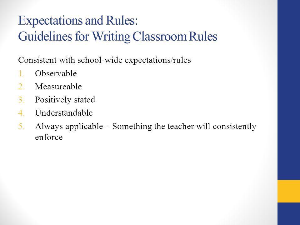 Classroom Design Should Follow Evidence : Effective management of problem behaviors inside the