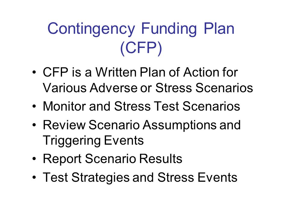 Lovely Contingency Funding Plan Template Pictures Inspiration ...
