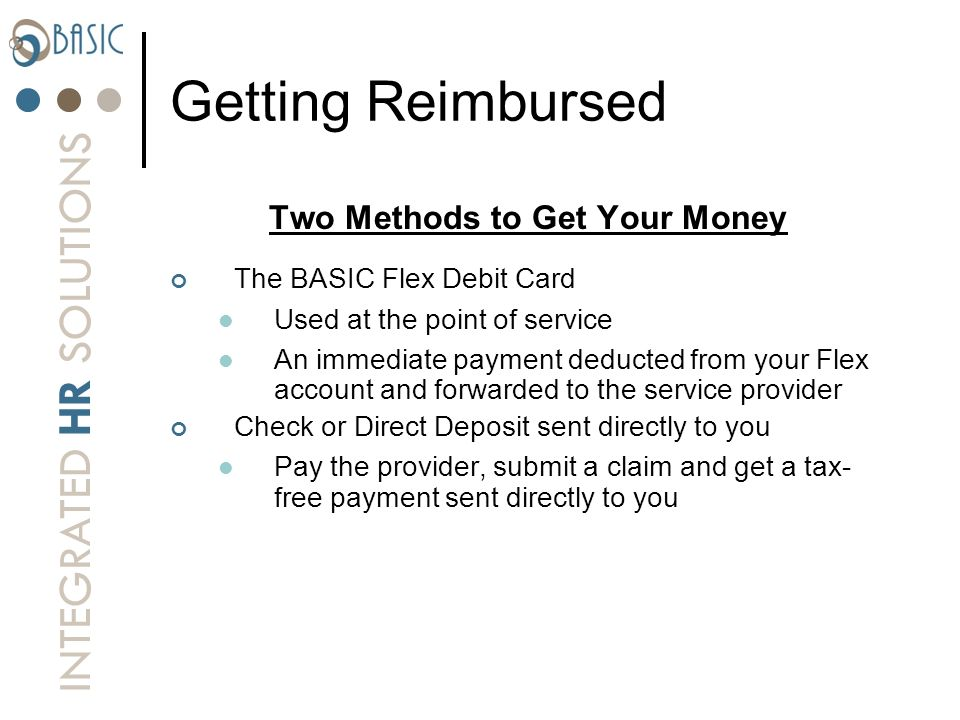 Two Methods to Get Your Money
