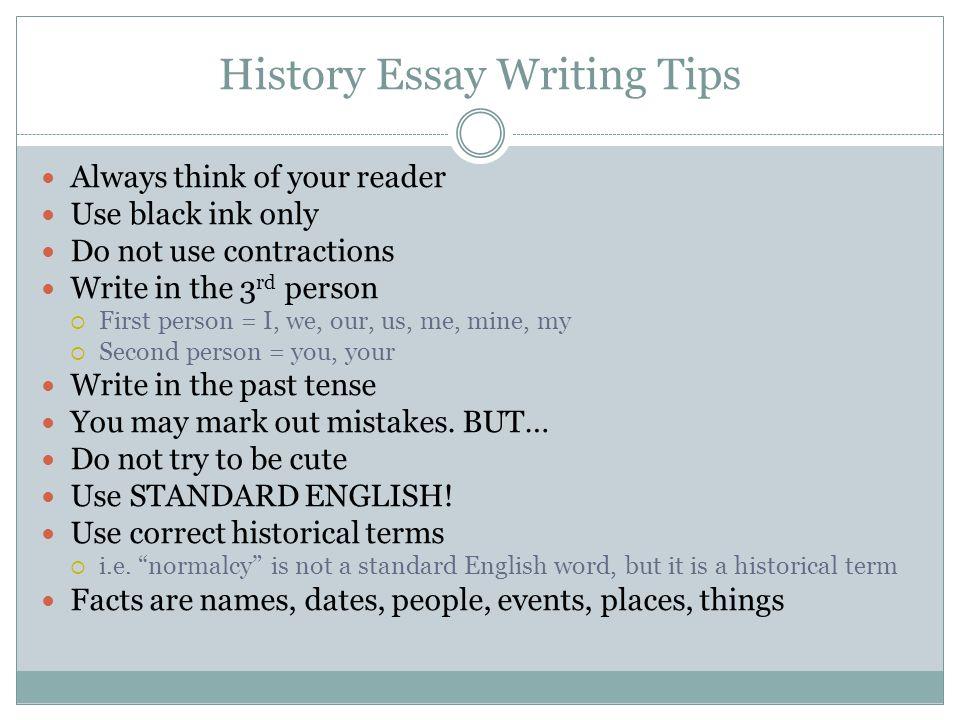 as history essay help